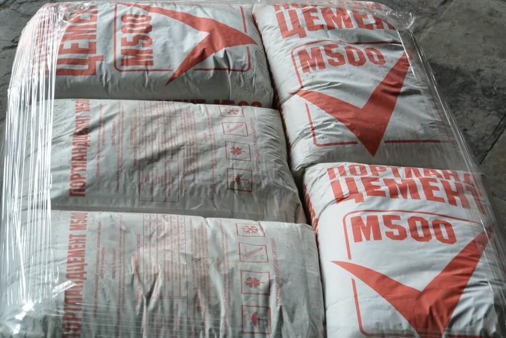 Cement M 500.