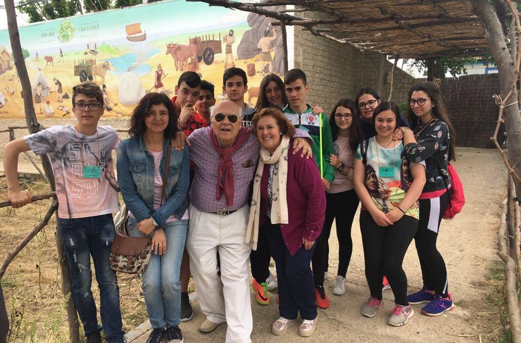 2.200 escolares visitan el Poblado Tartésico el curso 2016-2017