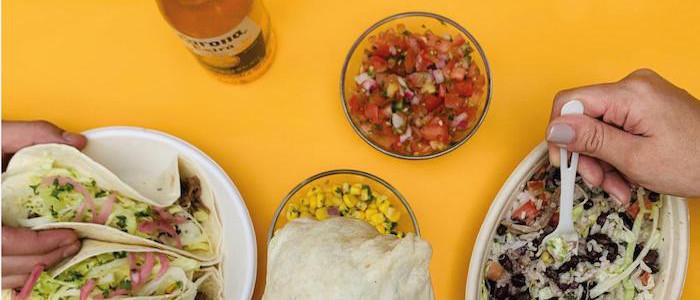 Tacos Burrito Bowl Salsa Maíz Corona Cerveza