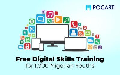 Free Digital Skills Training - Pocarti Digital