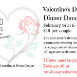 Two Shoes Productions Valentines Dinner
