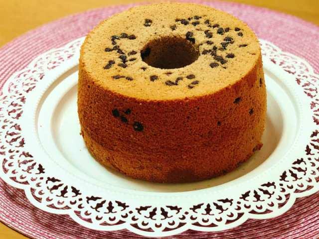 シフォンケーキの失敗の原因がわかる!失敗しないコーヒーシフォンケーキの作り方