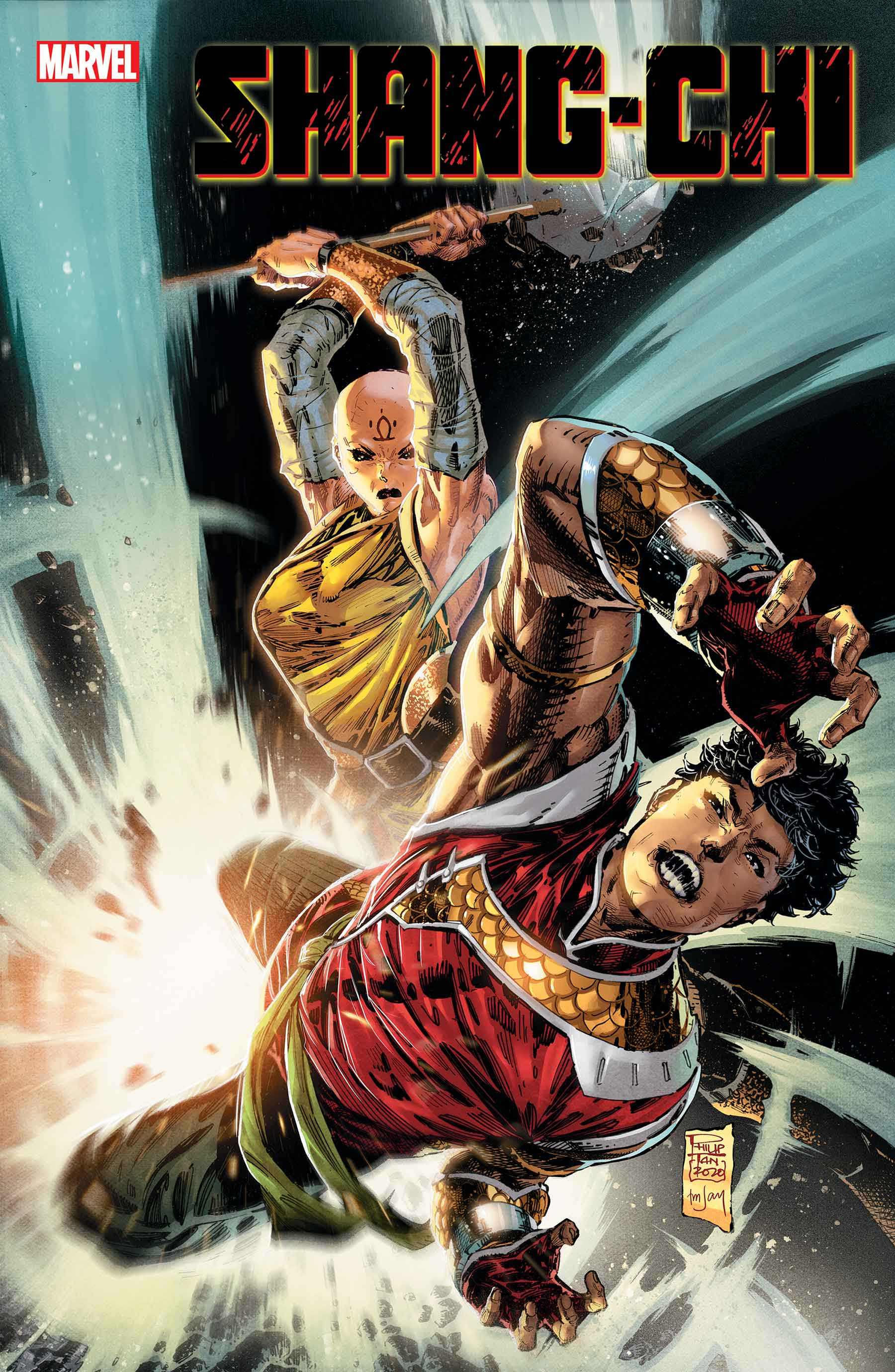 Shang-Chi #2 Cover Art by Philip Tan