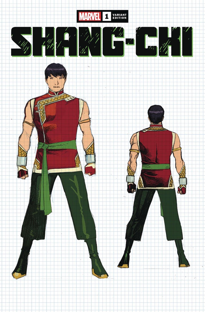 Shang-Chi #1 Jim Cheung Concept Variant Cover