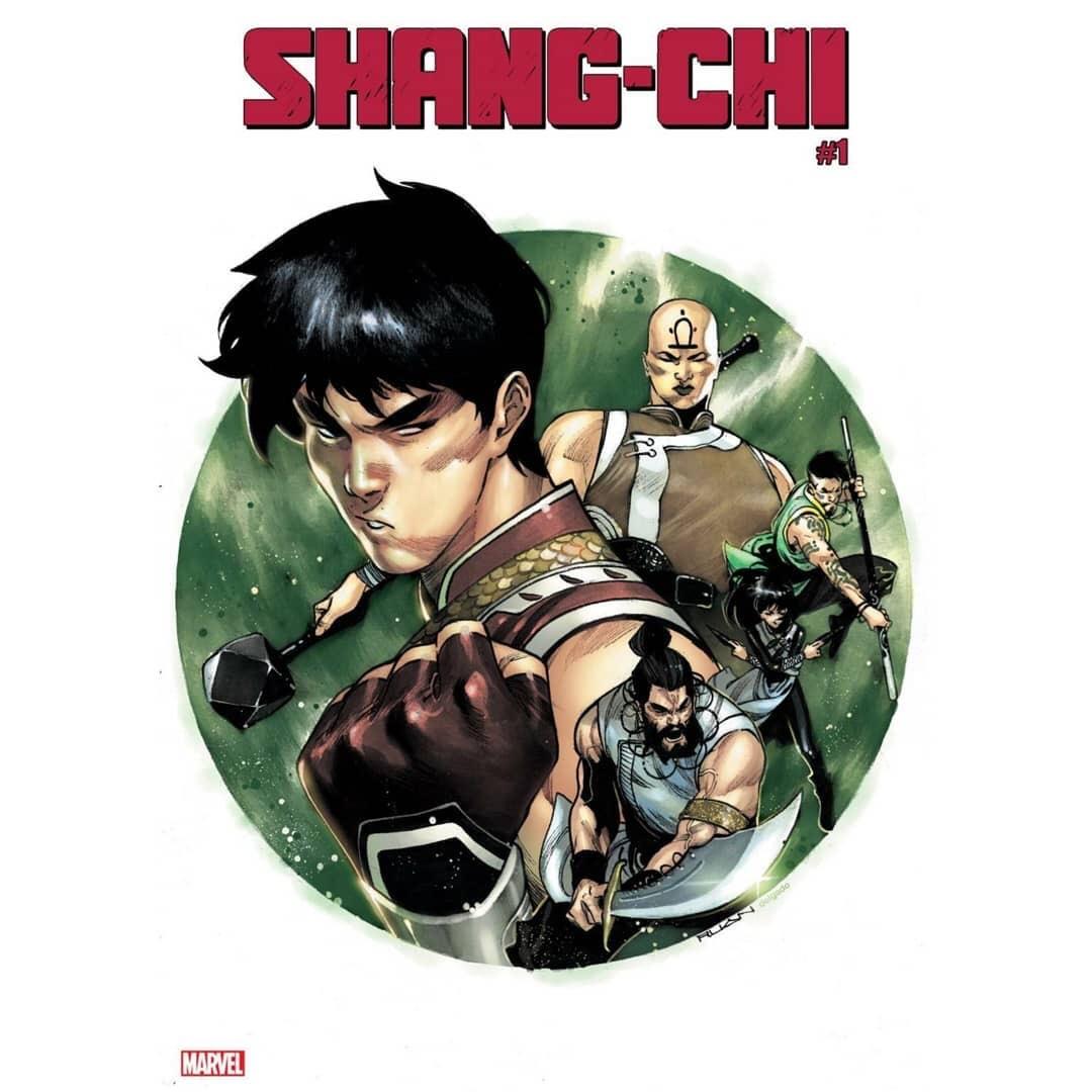 Shang Chi #1 Variant Cover by Dike Ruan