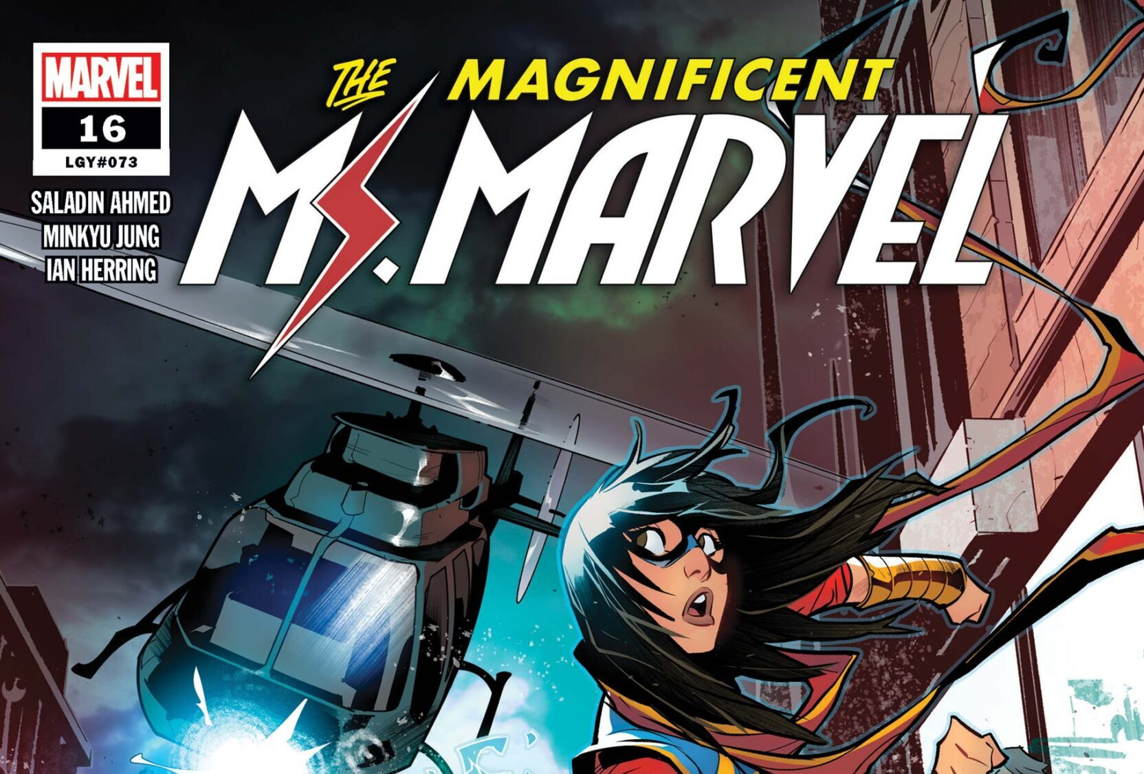 Cover for Magnificent Ms. Marvel #16