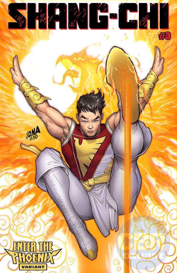 Shang-Chi #3 Enter the Phoenix Variant Cover by David Nakayama