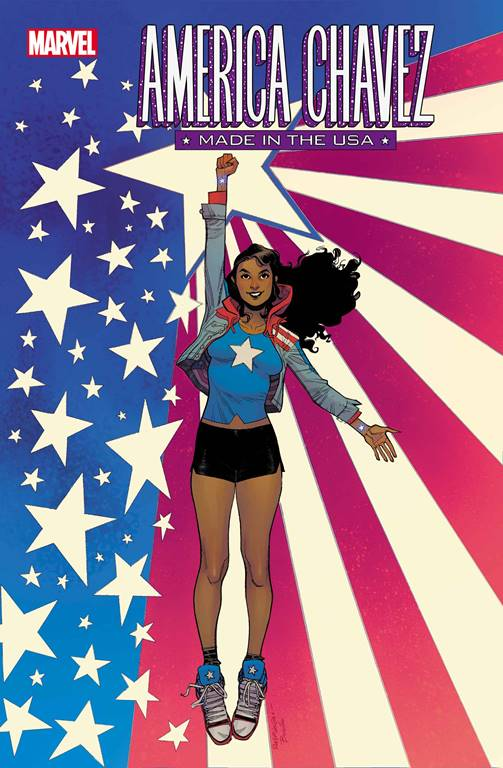 America Chavez: Made in the USA #1 Cover by Sara Pichelli