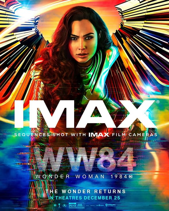 Wonder Woman 1984 Theatrical Poster