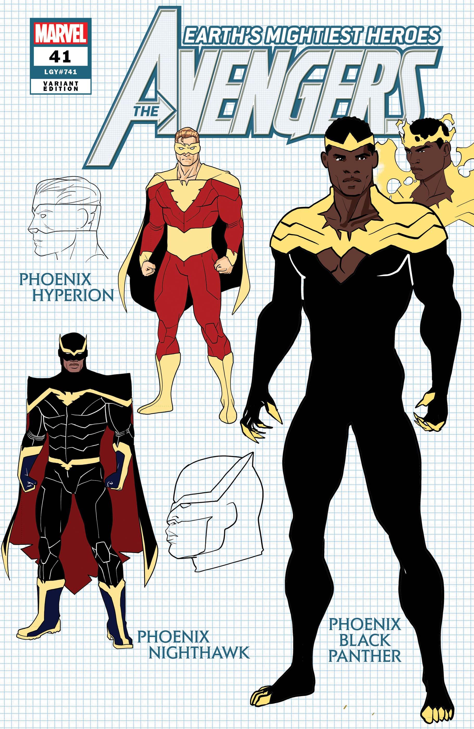 Avengers #41 Variant Cover by Javier Garron