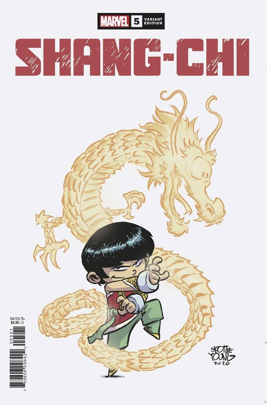 Shang-Chi #5 Variant Cover by Skottie Young