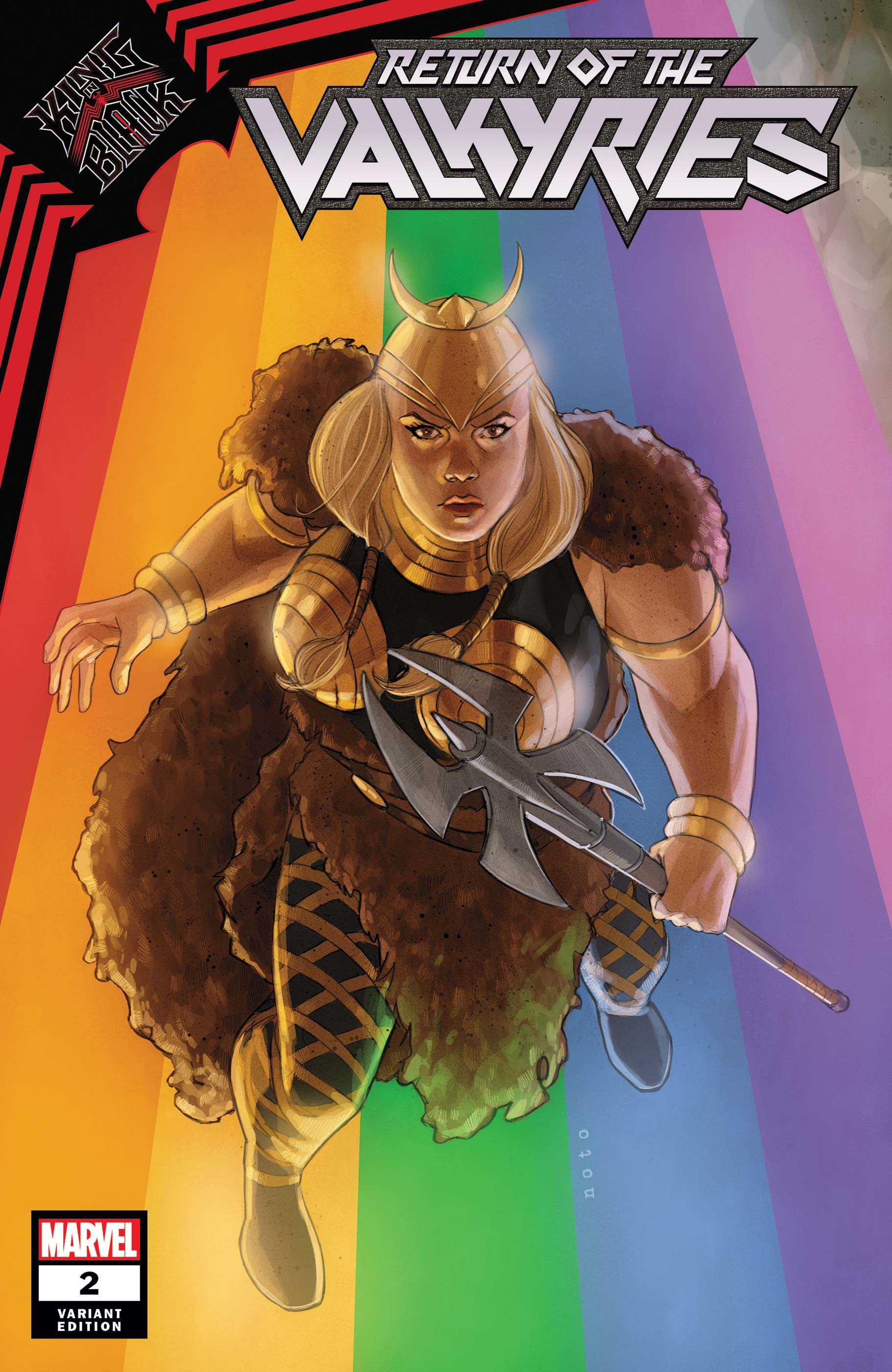 King in Black: Return of the Valkyries #2 Variant Cover by Phil Noto