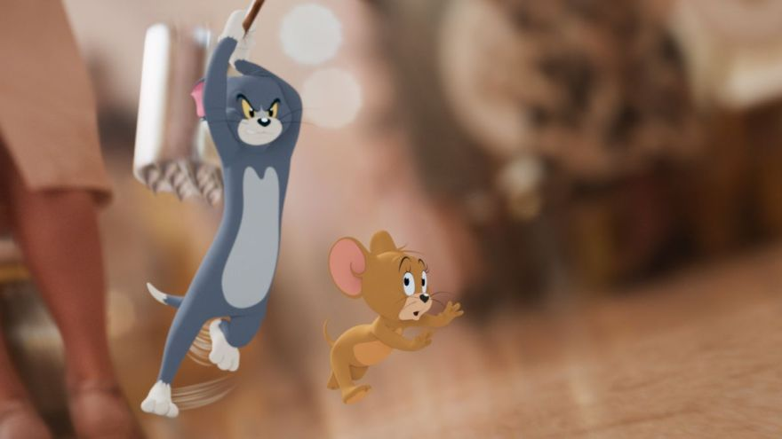 Tom Chasing Jerry from Tom & Jerry: The Movie