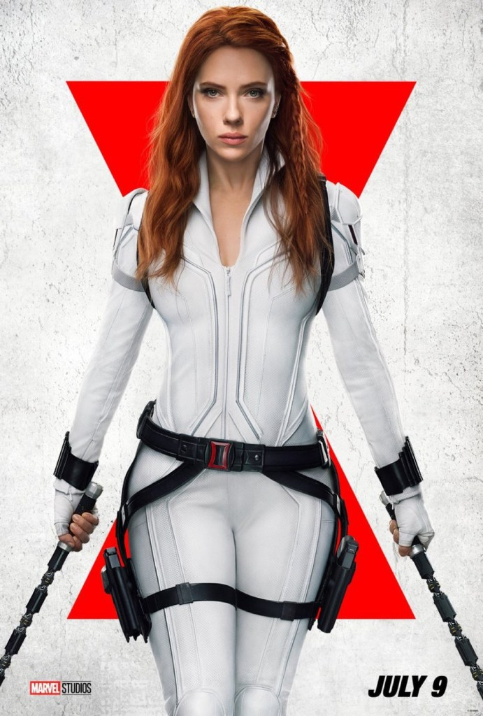 New Poster for Marvel Studios Black Widow, now premiering July 9th