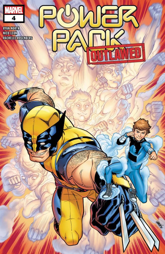 Power Pack #4 Cover by Javier Garron