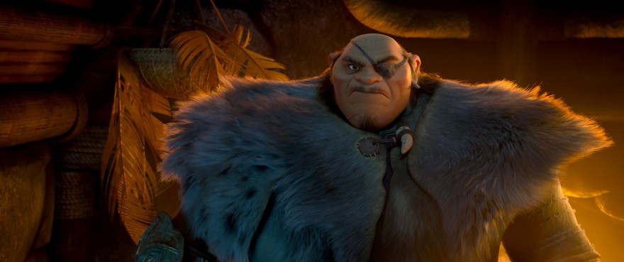 RAYA AND THE LAST DRAGON - Tong is a formidable giant. © 2020 Disney. All Rights Reserved.