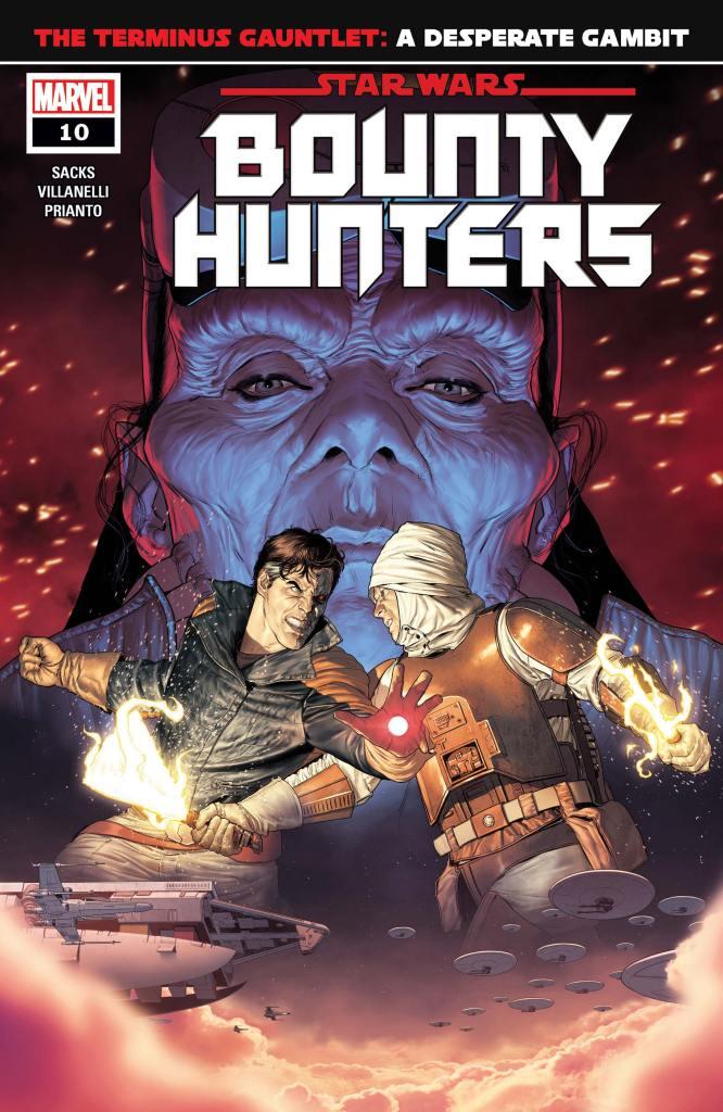 Star Wars: Bounty Hunters #10 Cover by Mattia De lulis