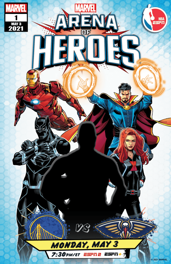Marvel's Arenas of Heroes Promotional Comic Cover