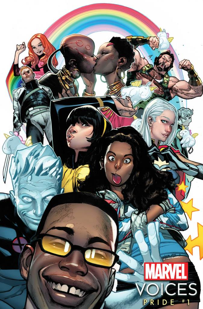 Marvel's Voices Variant Cover by Olivier Coipel