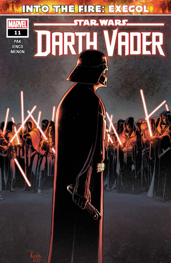 Star Wars: Vader #11 Cover by Aaron Kuder