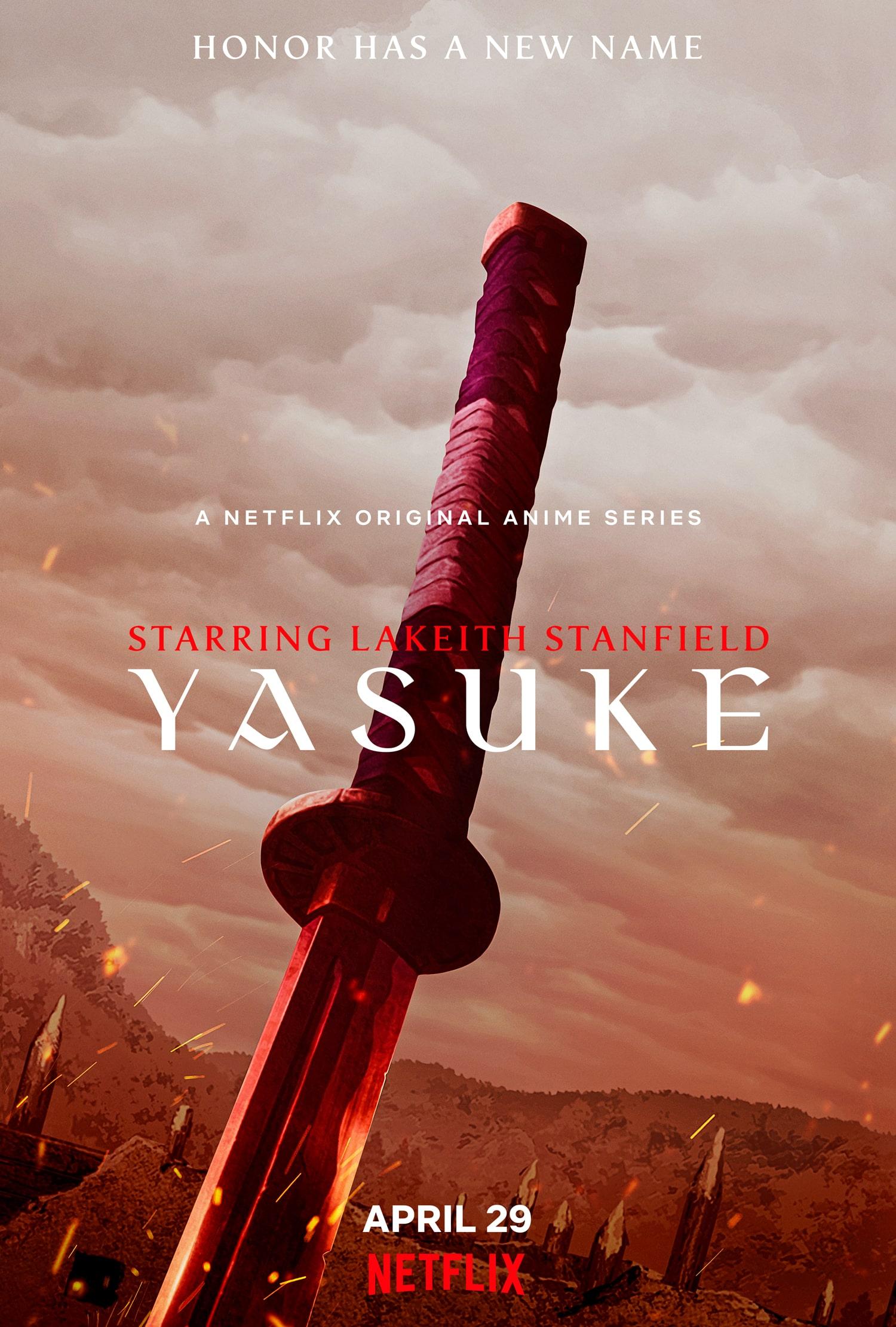 Netflix's Yasuke Teaser Poster