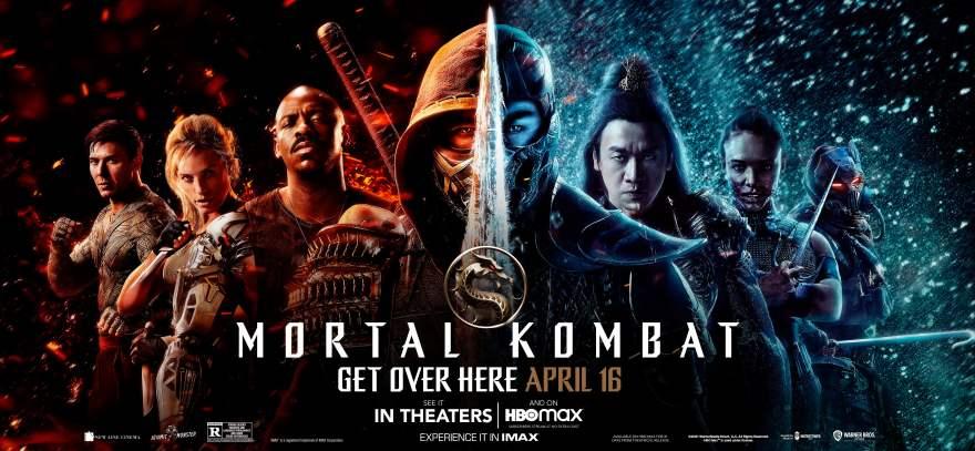 Mortal Kombat Vertical Poster