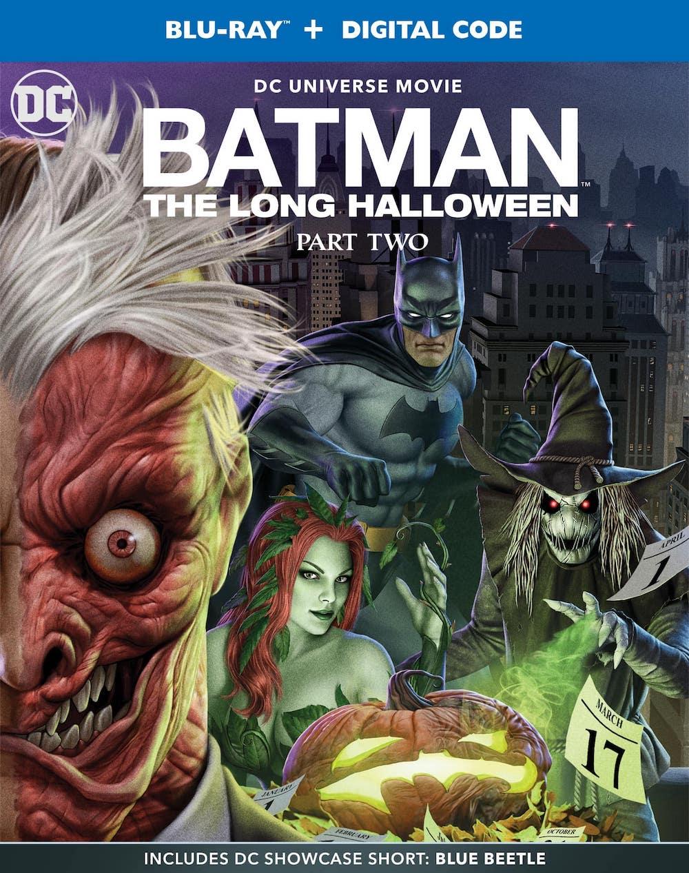 Batman: The Long Halloween, Part Two Blu-ray Cover Art