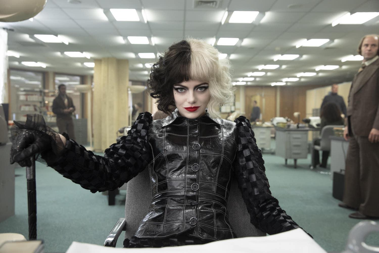 Emma Stone as Cruella © 2021 Disney Enterprises, Inc.All Rights Reserved.