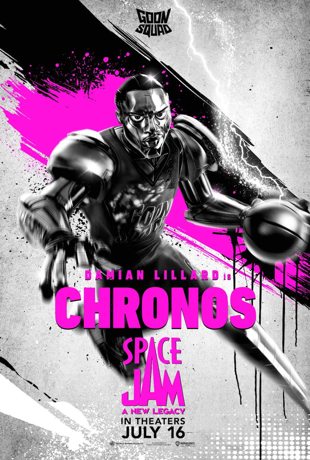 Chronos (Voiced by Damian Lillard) Character Poster