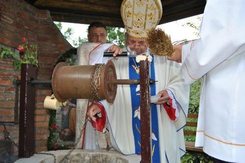 На Западной Украине освятили ещё один Источник Святой Анны.