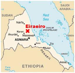 Eiraeiro on map