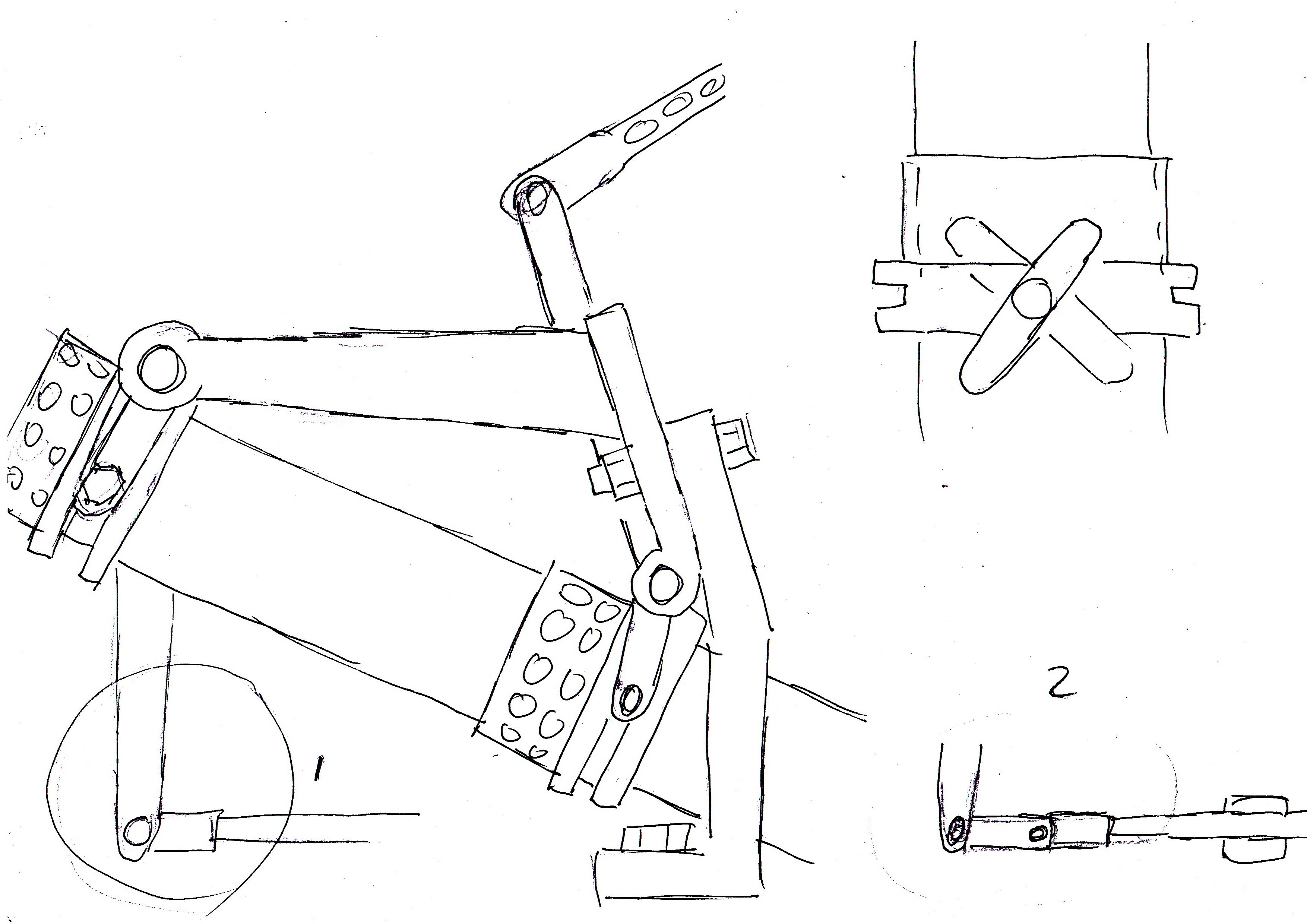 Fiat Control Linkage Diagrams With Some Edits Added