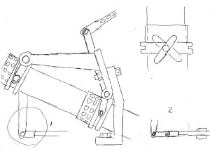 Fiat Control Linkage Diagrams (with some edits added