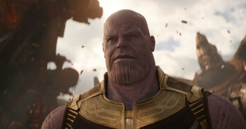 Vingadores: Guerra Infinita, Thanos