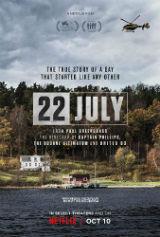 22 de Julho, cartaz