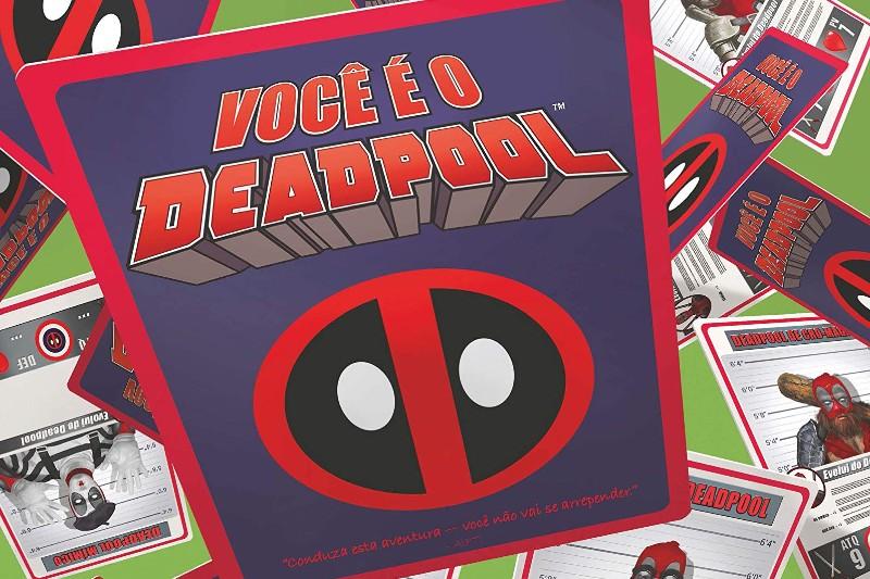 Review HQ   Você é o Deadpool