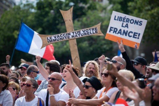 Manifestation contre l