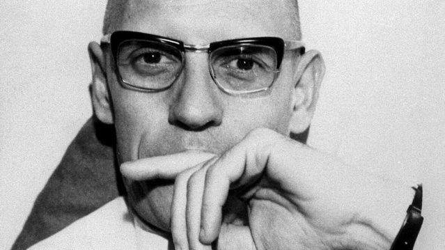 © Inconnu Michel Foucault : toutes ses hautes idées ronflantes n