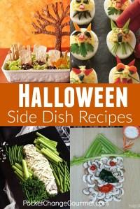 halloween main dish sign
