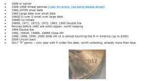 printable penny watch list