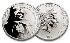 niue coins star wars