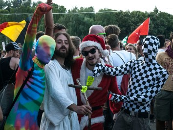 The Second Coming will happen on Sziget or not at all.