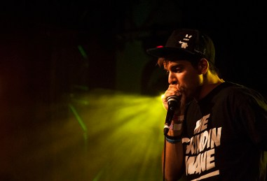 Skiller, who is the 2012 beatbox World Champion and is part of the Balkan Khans project.