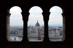 View of the Parliament from Buda Castle