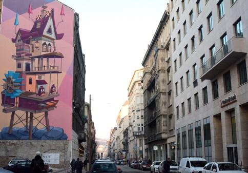 Arany János street
