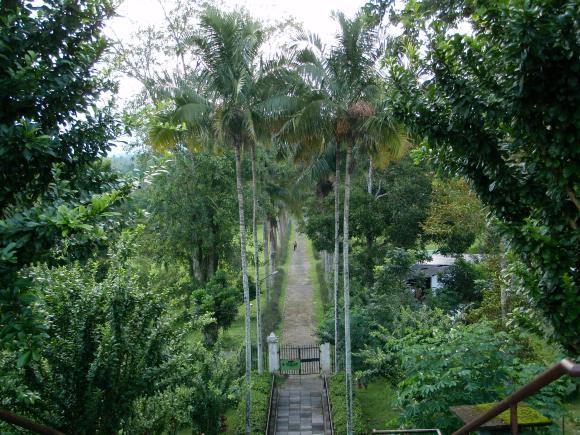grounds of Borobudur