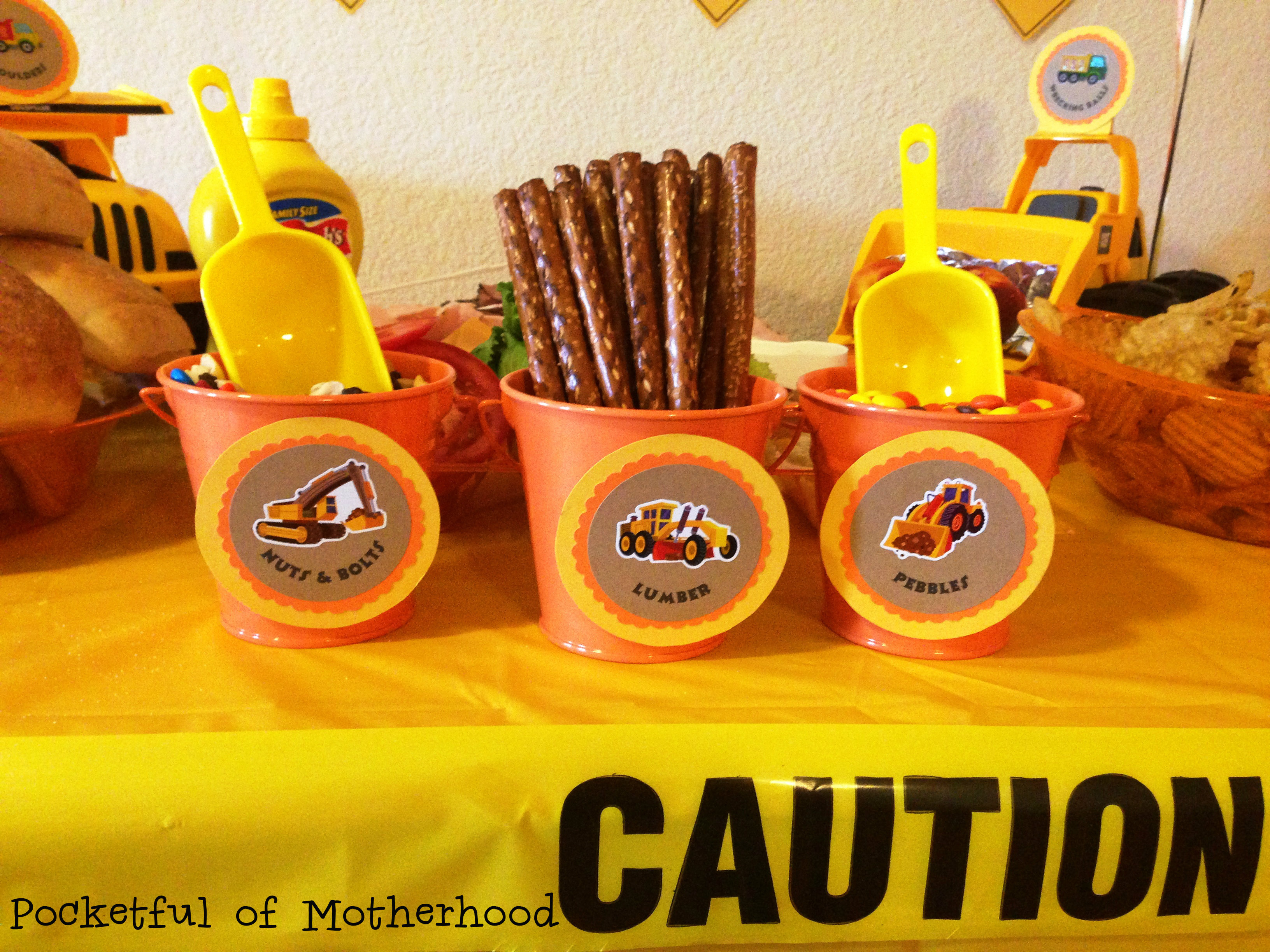 Construction Themed Birthday Party Pocketful Of Motherhood