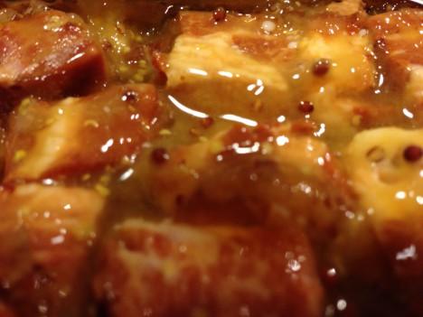 缶つま★レストラン 厚切りベーコンのハニーマスタード味-中味