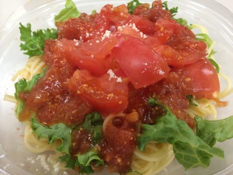 セブンイレブン-トマト1個分を使った冷製パスタ
