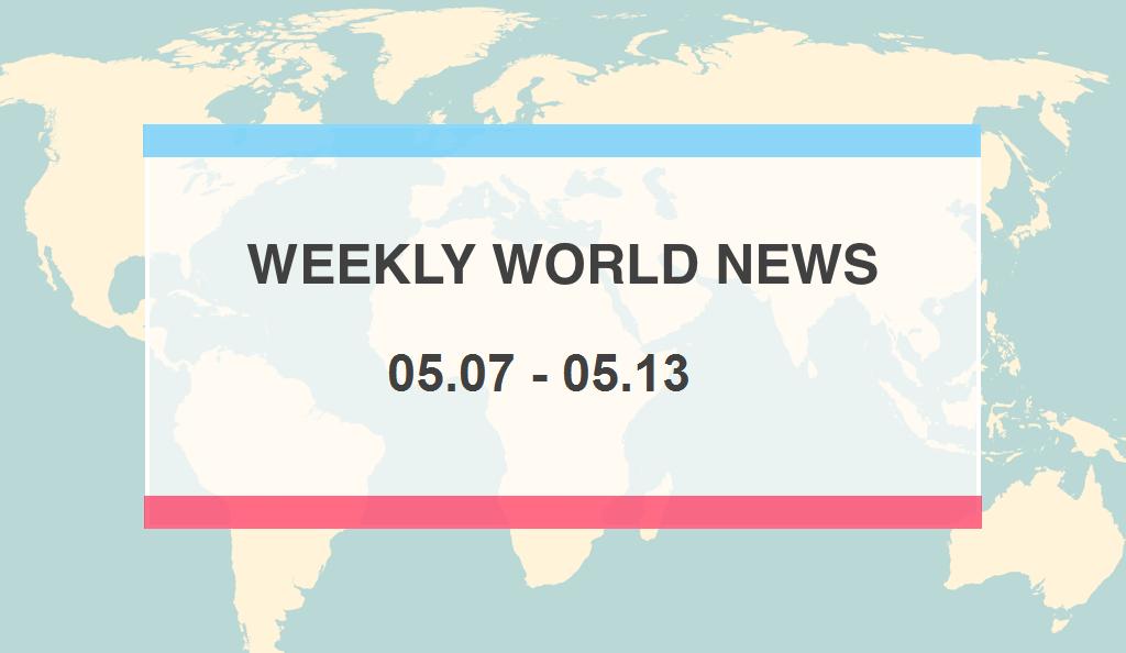 Weekly World News 5/07 – 5/13